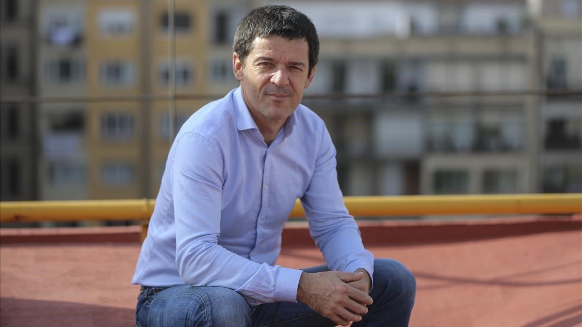 Sergi Sol, mano derecha de Oriol Junqueras y exjefe de comunicación de ERC