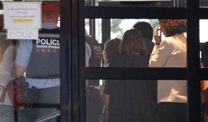 Shakira, en el interior de los juzgados de Esplugues, el pasado 6 de junio.