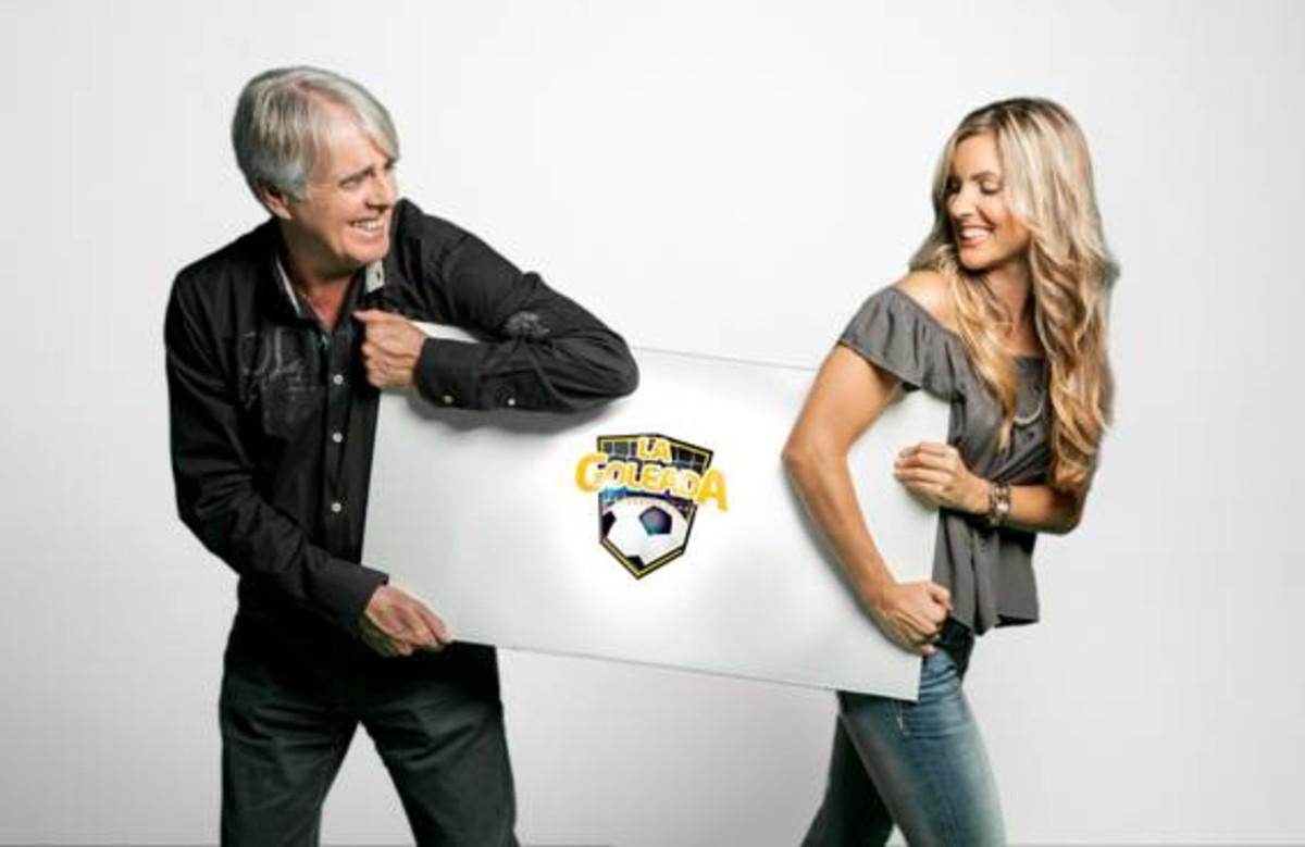 """Siro López y Danae Boronat, nuevos presentadores de """"La goleada"""" en 13TV"""