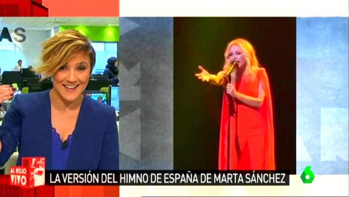 Cristina Pardo y Marta Sánchez (Al rojo vivo).