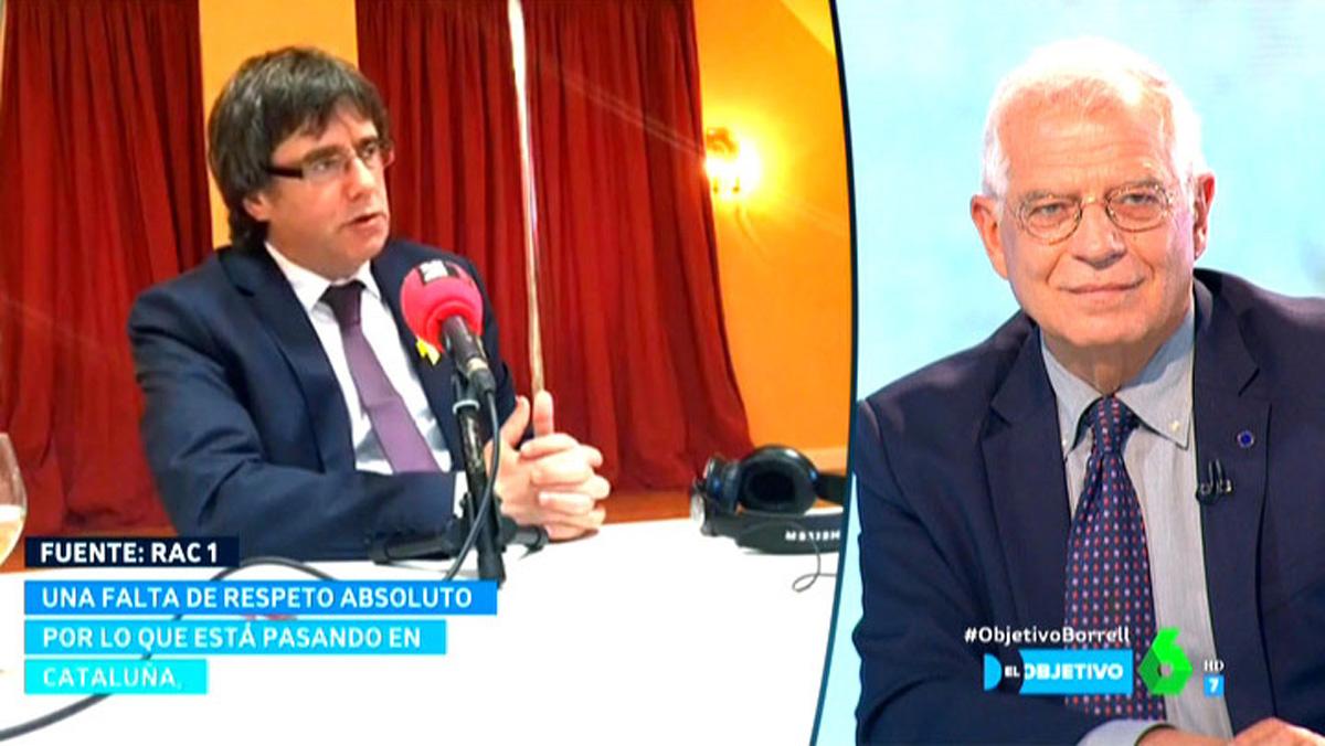 Josep Borrell en El objetivo (La Sexta).