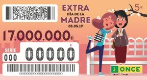 Sorteo ONCE del Día de la Madre 2019: precio del cupón, fecha y premios