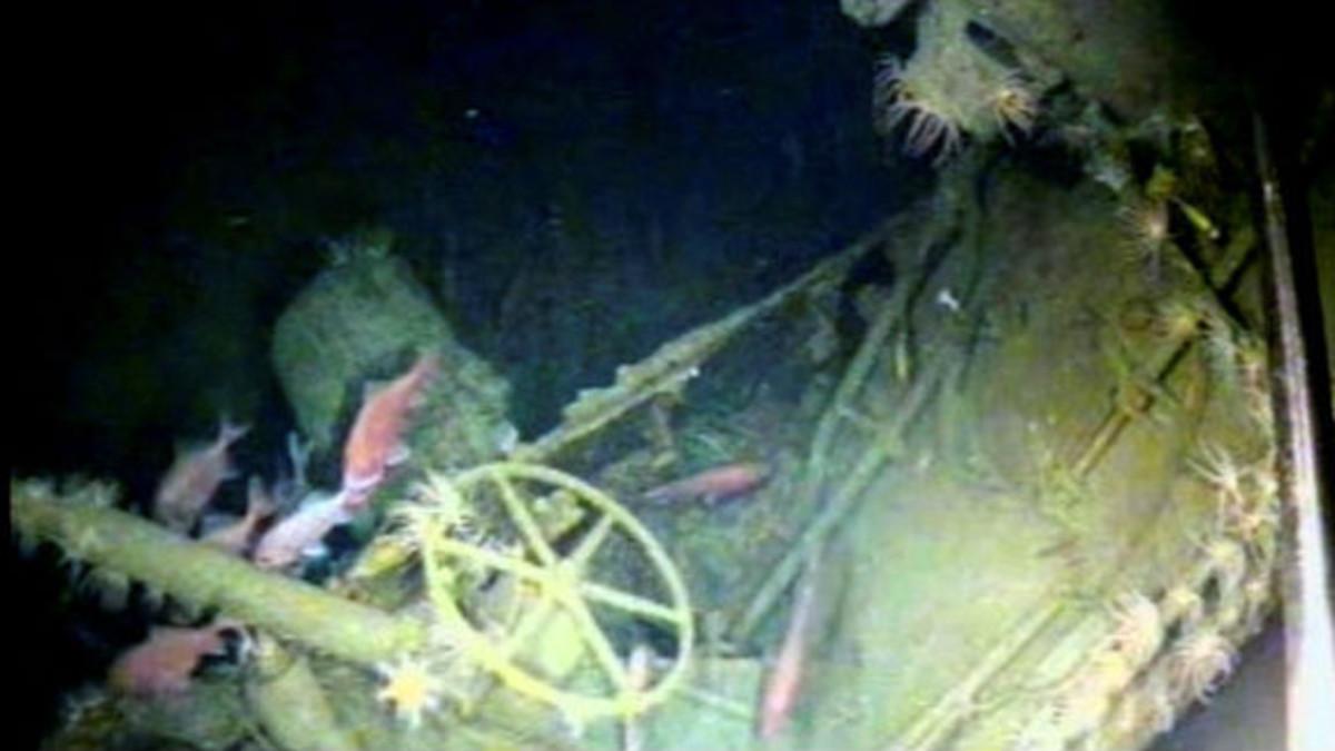 Submarino localizado 103 años después de su desaparición