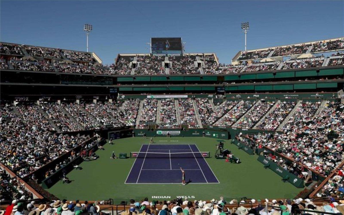 Suspenden el torneo de tenis de Indian Wells por el coronavirus