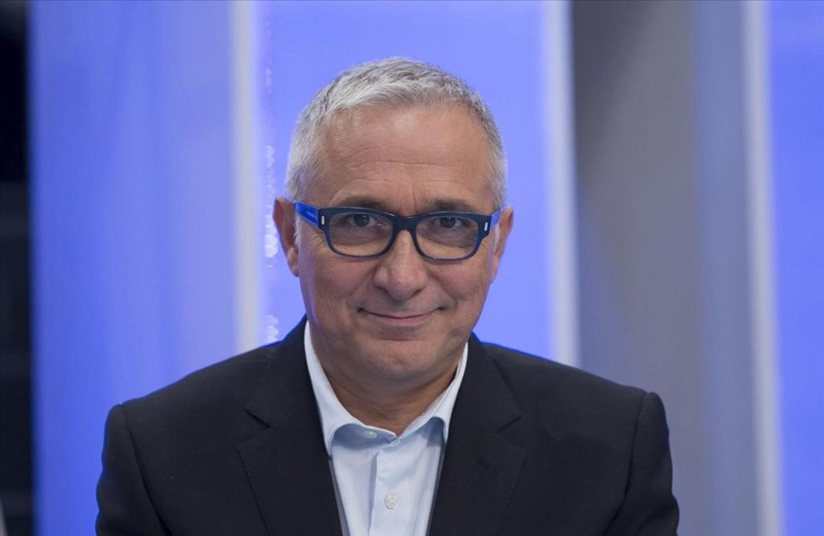 El periodista Xavier Sardá.