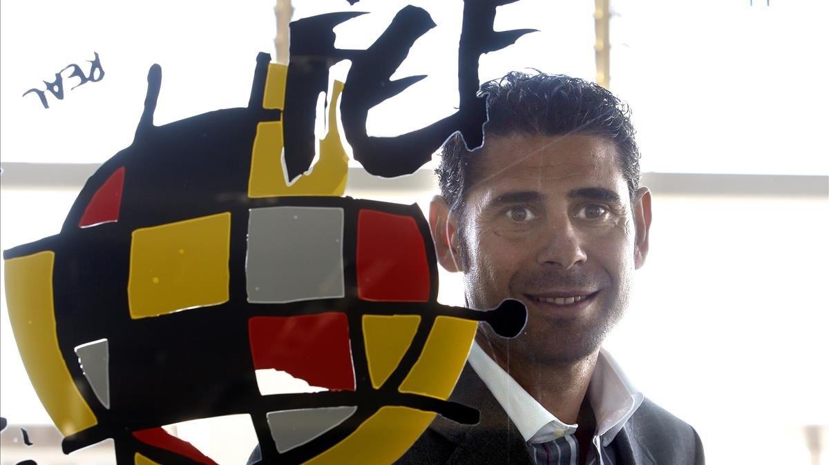 Fernando Hierro dirigirà Espanya en el Mundial de Rússia