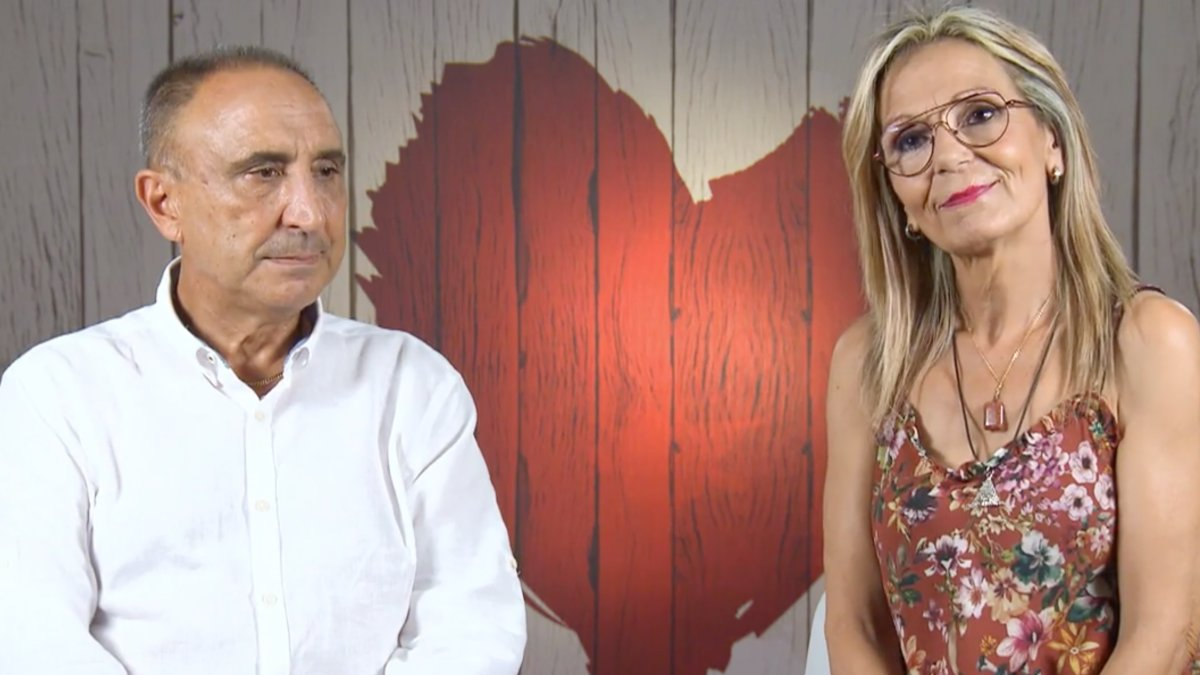 Vicente e Isabel en 'First Dates'.