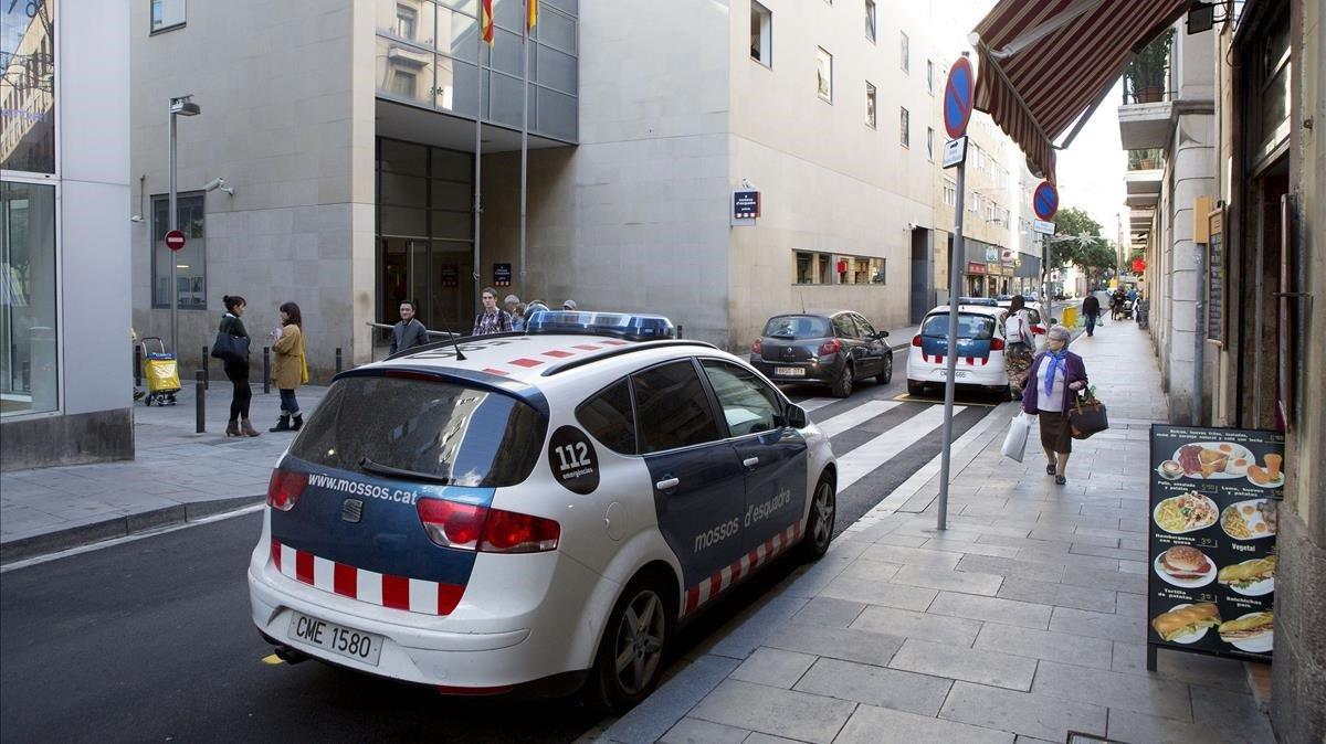 La comisaría de Mossos dEsquadra de Ciutat Vella, en una foto de archivo.