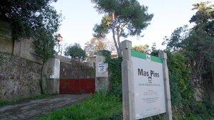 La masia de Mas Pins, en Barcelona.