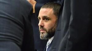 Pablo Ibar, en una reciente comparecencia en el Tribunal del Condado de Broward, en Florida.