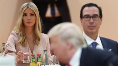 Ivanka Trump reemplaza a su padre en la mesa de los líderes del G-20