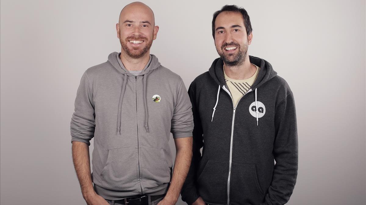 David Okuniev (izquierda) y Robert Munoz.