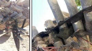 Primeres imatges de l'armilla bomba fabricada pels terroristes d'Alcanar