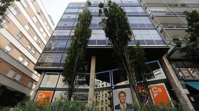 La fachada gris de Ciutadans