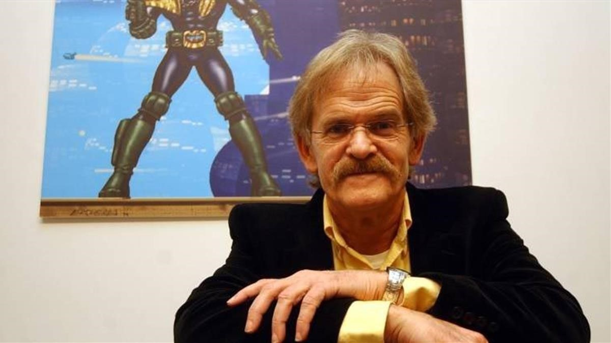 El dibujante Carlos Ezquerra, cocreador de El juez Dredd.