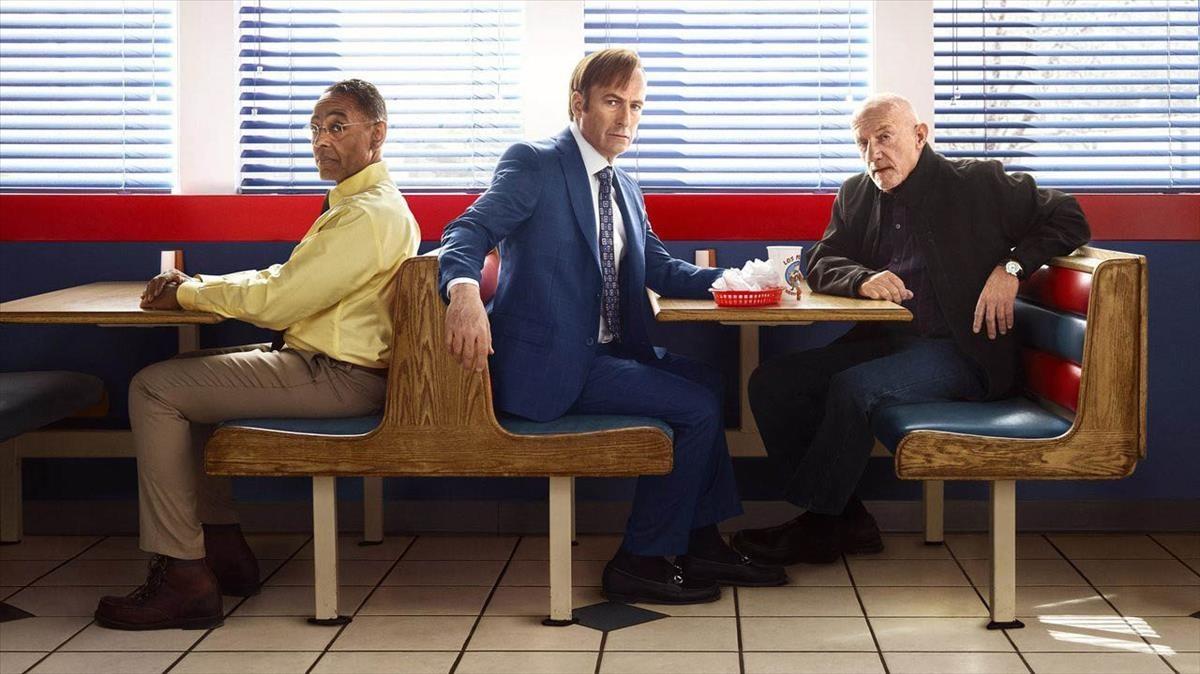Fotograma de la serie Better call Saul.