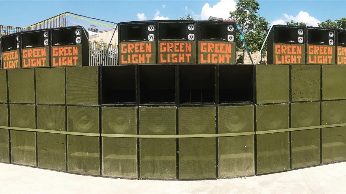 El sound system Green Light.