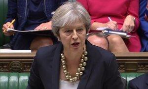 """May diu que l'esborrany del 'brexit' està """"a prop"""" de complir el referèndum"""
