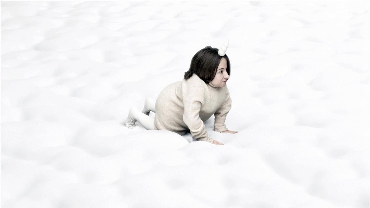 Chiara Bersani en un momento de 'Gentle Unicorn'.