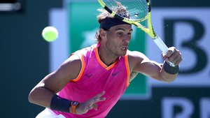 Rafa Nadal es passeja fins als quarts de final a Indian Wells