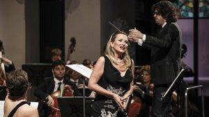 Arteta: «Plácido Domingo és la persona més respectuosa que conec»