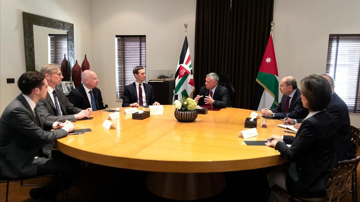 Kushner intenta obtenir el recolzament de Jordània i el Marroc al pla de pau de Trump per al Pròxim Orient