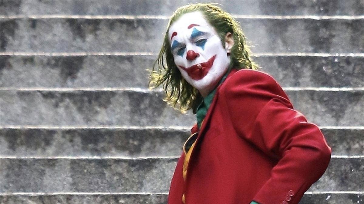 Joaquin Phoenix en el papel del Joker.