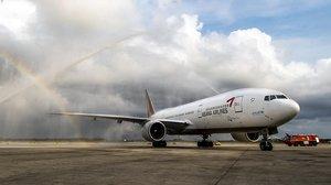 Avión de Asiana Airlines.