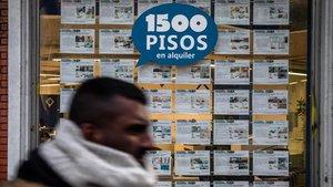 Llogar un pis a Barcelona ja supera els 1.000 € de mitjana