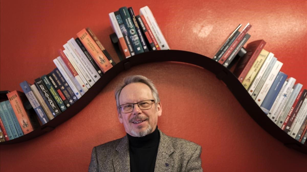 El escritor Craig Russell, este viernes en Barcelona.
