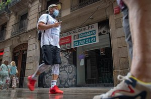 La economía catalana se derrumba el 15,6%