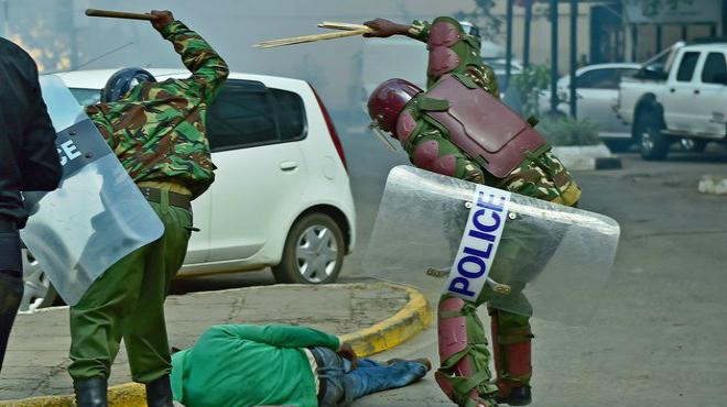 Resultado de imagen para kenia policia