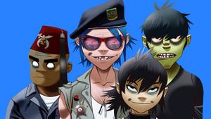 La banda británica Gorillaz, en una imagen promocional