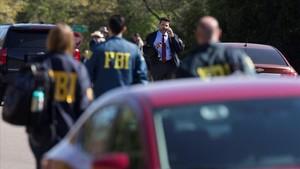 Agentes del FBI investigan el origen de la explosión del domingo 18 de marzo en Austin