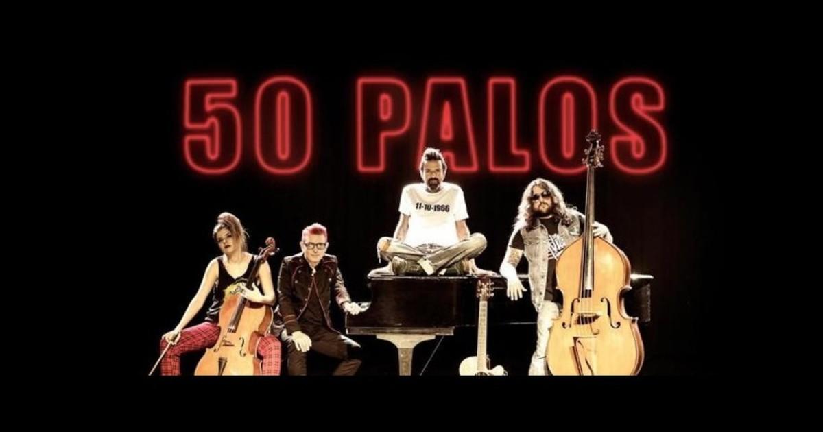 50 palos, concertde Jarabe de Palo.