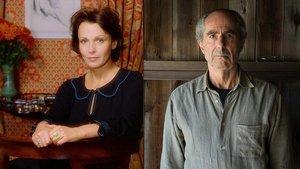 La actriz Claire Bloom y el escritor Philip Roth, un matrimonio a la greña