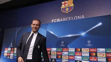 """Allegri pide """"lucidez y frialdad"""" a la Juventus para eliminar al Barça"""
