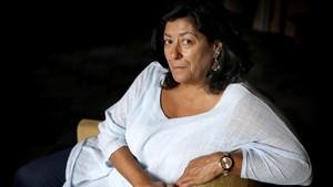 La escritora Almudena Grandes.