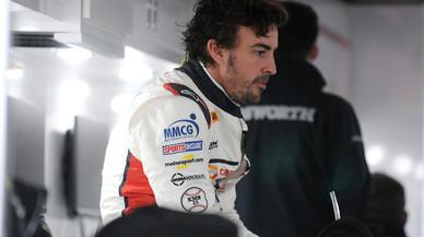 24 Horas de Daytona: un problema de frenos hace perder media hora al equipo de Alonso