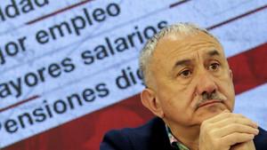 Álvarez vota a Catalunya l'acord salarial