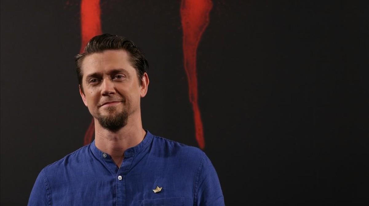 El realizador argentino Andy Muschietti, en Madrid, donde presentó su nueva película, 'It'.