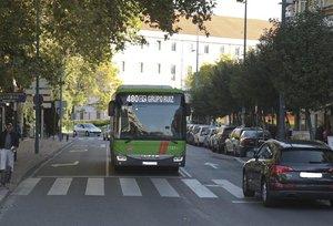 Un autobús interurbano.