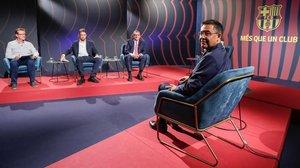 Bartomeu, en la entrevista que concedió a Barça TV.