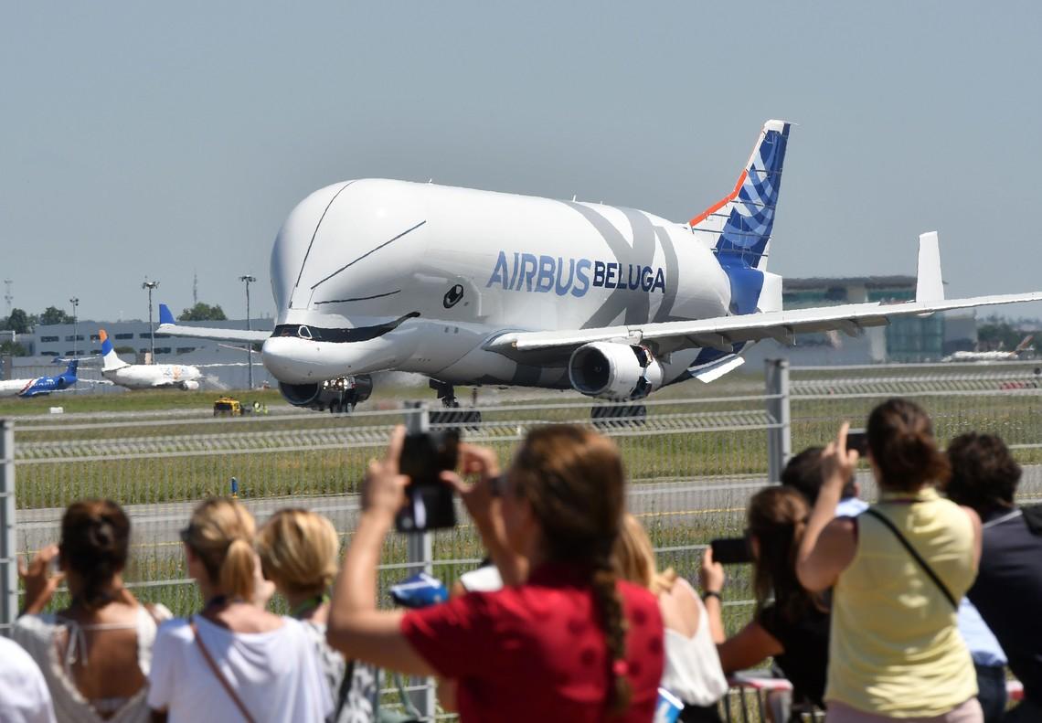 El Beluga XL de Airbus.