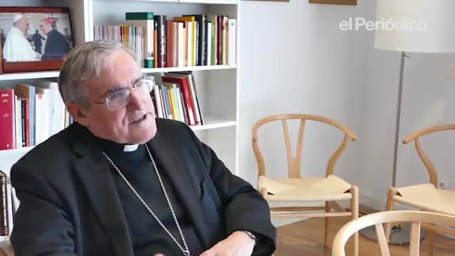 Martínez Sistach: «Las monas se hacen de monumentos importantes»