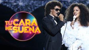 Carlos Baute y Ruth Lorenzo en 'Tu cara me suena'.