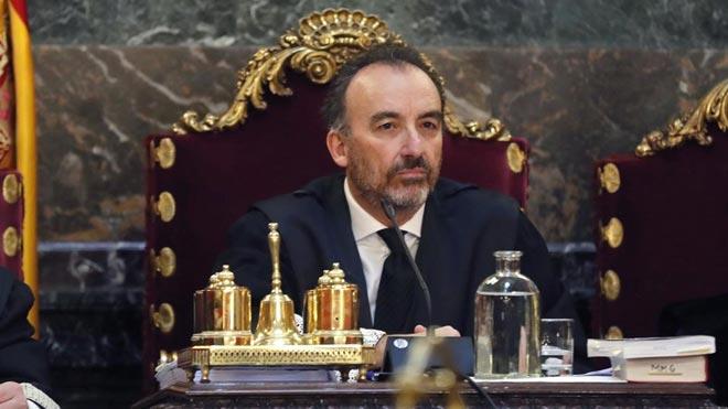 Carta en la que Manuel Marchena renuncia a presidir el Tribunal Supremo y el CGPJ.