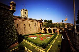El Castell de Montjuïc, escenario de esta muestra teatral.