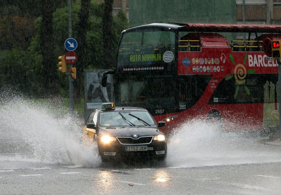 Las precipitaciones podrán extenderse al resto de la Península a lo largo del día, salvo en el litoral del Levante.