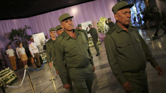 Comienzan las honras fúnebres por Fidel Castro